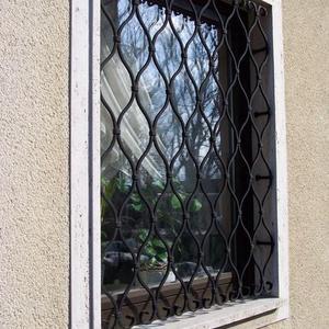 5. Schmiedeeisenfenstergitter