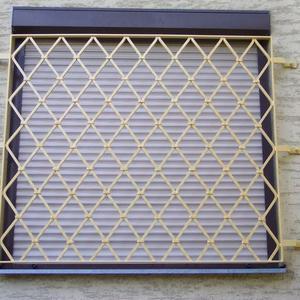 10. Schmiedeeisenfenstergitter