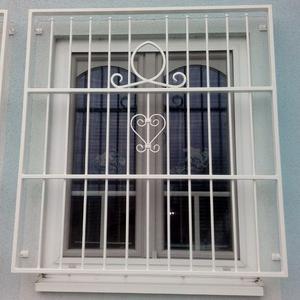 23. Schmiedeeisenfenstergitter