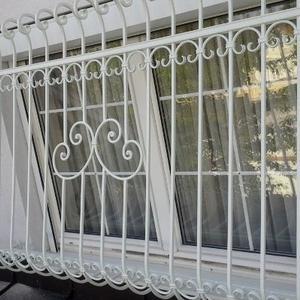 21. Schmiedeeisenfenstergitter