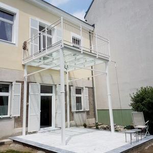 45. Terrassenüberdachung und Balkon