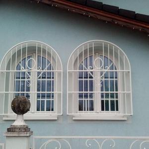 22. Schmiedeeisenfenstergitter